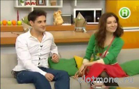 Интервью с Еленой Подкаминской и Марком Богатыревым из сериала Кухня